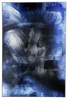 JÜRGEN BARTENSCHLAGER 'WISP 3', Alu-Dibond, 120cm x 80cm, 2016
