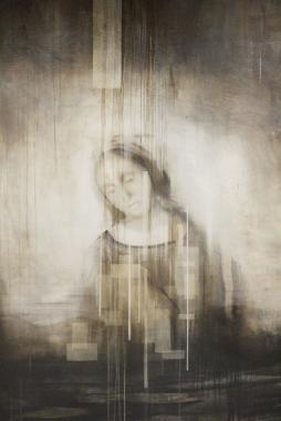 JOACHIM VAN DER VLUGT 'Harvest Queen II', oil on canvas, 190cm x 140cm, 2016