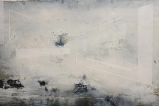 JOACHIM VAN DER VLUGT 'Chasing butterflies', oil on canvas, 60cm x 100cm, 2016