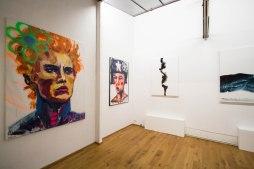 Francesco Neo, Puck, 2018 Ölmalerei & Spray auf Leinwand, 150 x 200 cm